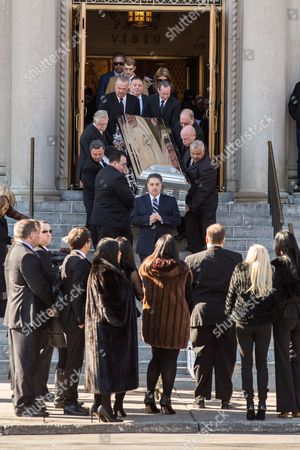 Editorial photo of Funeral of Angela Raiola aka Big Ang, New York, America - 22 Feb 2016