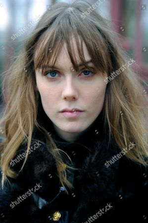 Model Kiki Willems after Burberry at West Albert Lawn Kensington Gardens