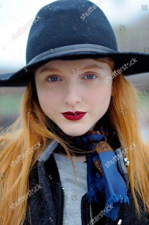 Model Madison Stubbington at Granary Square