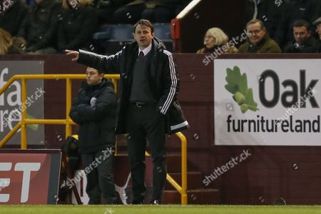 Nottingham Forest manager Dougie Freedman  during the Sky Bet Championship match between Burnley and Nottingham Forest at Turf Moor, Burnley