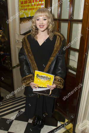 Editorial image of 'Beautiful - The Carole King Musical' musical, London, Britain - 23 Feb 2016