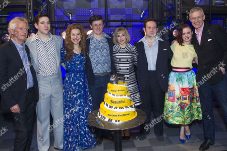 Tony Banks, Ian McIntosh (Barry Mann), Cassidy Janson (Carole King), Alan Morrissey (Gerry Goffin), Lorna Want (Cynthia Weil), Gary Trainor (Don Kirshner), Joanne Clifton and Jeremy Vine backstage
