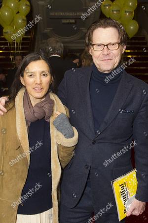 Christina Wilson and Robert Elms
