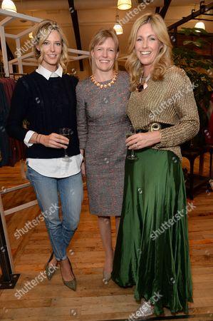 Olivia Hunt, Dr Chiara Hunt and Marina Fogle