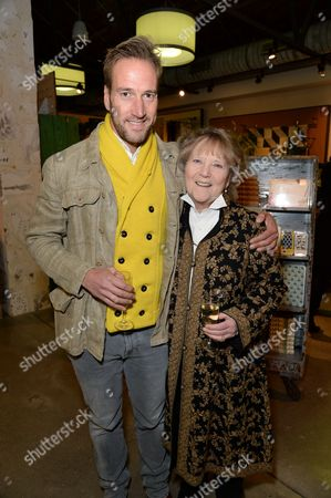 Stock Picture of Ben Fogle with mother Julia Foster