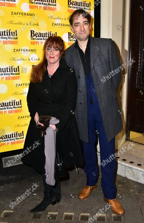 Editorial photo of 'Beautiful The Carole King Musical' anniversary celebrations, London, Britain - 23 Feb 2016