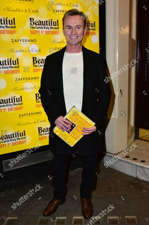Editorial image of 'Beautiful The Carole King Musical' anniversary celebrations, London, Britain - 23 Feb 2016