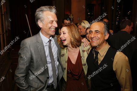 Michael Ritchie, Sharon Lawrence and David Pittu