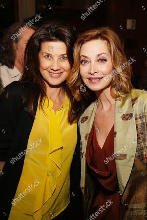 Daphne Zuniga and Sharon Lawrence