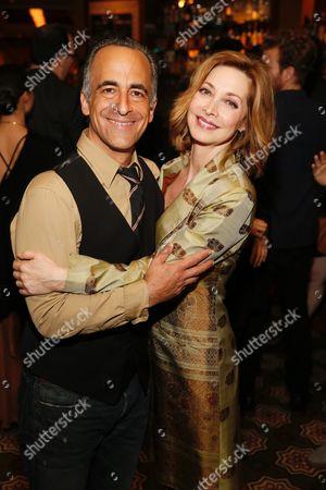 David Pittu and Sharon Lawrence