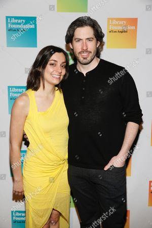Liana Maeby and Jason Reitman