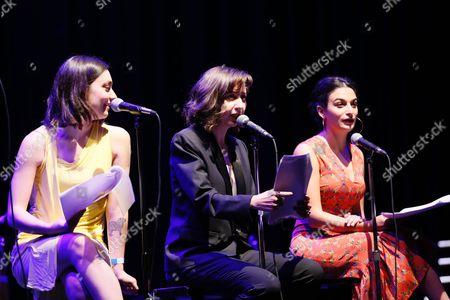 Liana Maeby, Kristen Schaal and Jenny Slate