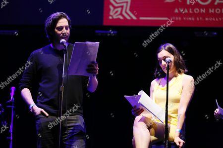 Jason Reitman and Liana Maeby