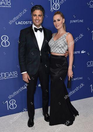 Jaime Camil and Heidi Balvanera