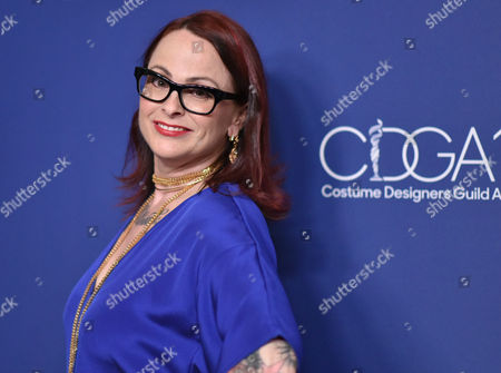 Editorial picture of 18th Costume Designers Guild Awards, Arrivals, Los Angeles, America - 23 Feb 2016