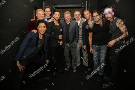 William Shatner, Jeff Hobson, Andrew Basso, Kevin James, Yu Ho-Jin, Ben Blaque, James More, Dan Sperry. Adam Trent