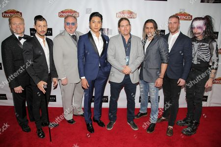 Editorial image of 'The Illusionists' Opening Night at the Pantages Theatre, Los Angeles, America - 23 Feb 2016