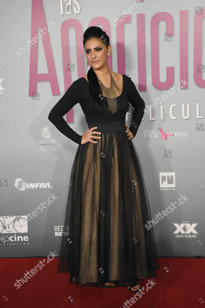 Editorial image of 'Las Aparicio' film premiere, Mexico City, Mexico - 23 Feb 2016