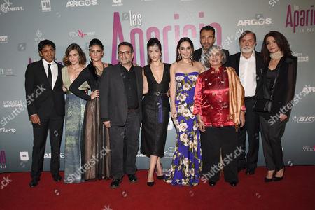 Editorial image of 'Las Aparicio' film premiere, Mexico City, Mexico - 23 Feb 2016