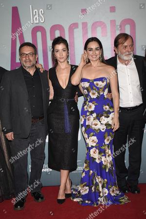 Erendira Ibarra, Ana de la Reguera, Epigmenio Ibarra and guest