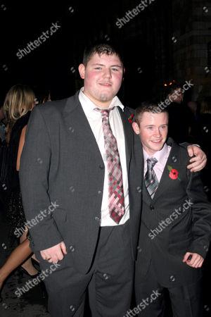 Jamie Waylett and Devon Murray