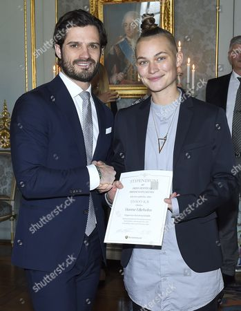 Prince Carl Philip and Hanne Liljeholm