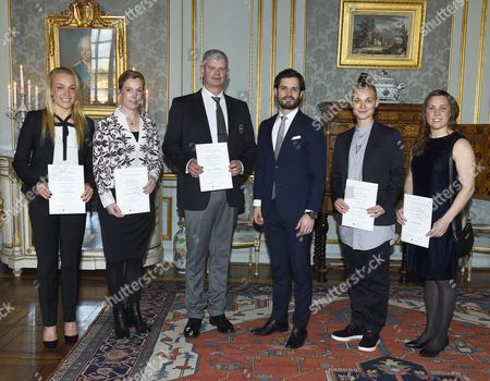 Lisa Öhberg, Cecilia Willberg, Mats Wallberg, Prince Carl Philip, Hanne Liljeholm, Jenny Edner