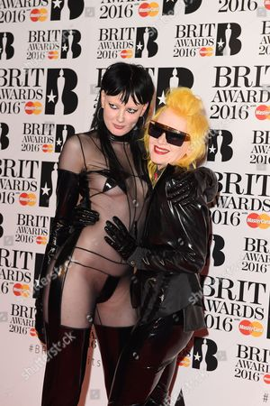 Pam Hogg with Sadie Pinn