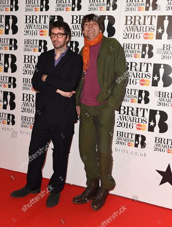 Graham Coxon and Alex James