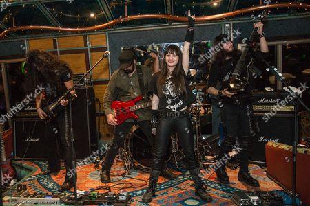 Editorial photo of Axes & Anchors Rock Music Cruise, Sailing from Miami, America - 22 Feb 2016