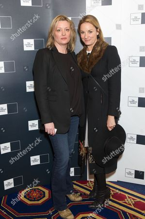 Laurie Brett and Tamzin Outhwaite