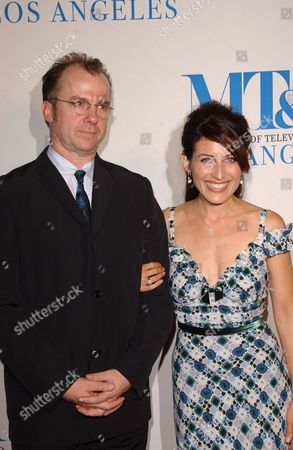 Michael O'Keefe and Lisa Edelstein