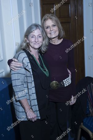 Rosie Boycott and Gloria Steinem