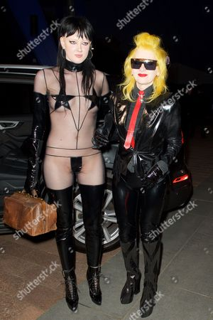 Sadie Pinn and Pam Hogg