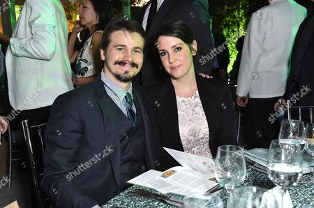 Josh Ritter and Melanie Lynskey