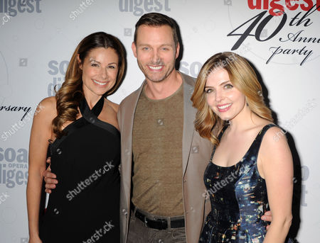 Marie Wilson, Eric Martsolf and Jen Lilley
