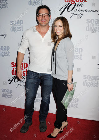 Tyler Christopher and Rebecca Budig