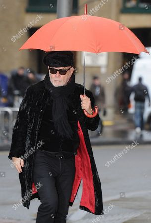 Gary Glitter Arrives At Southwark Crown Court On The Day The Jury May Decide Whether He Is Guilty Or Innocent For Historic Sex Charges.