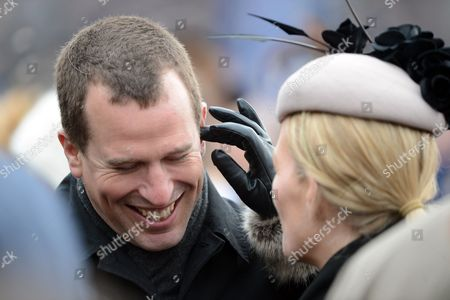 Peter Philips With Autumn Summer At The Cheltenham Festival On Gold Cup Friday Cheltenham.