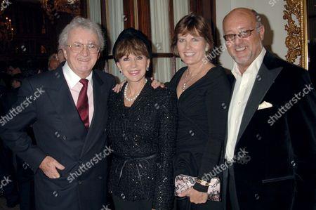 Leslie Bricusse, Evie Bricusse, Peter De Savary and wife