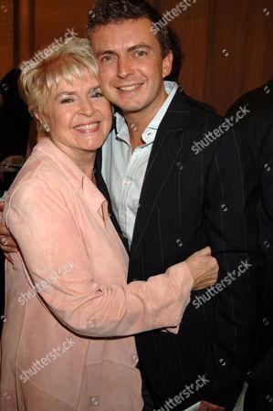 Gloria Hunniford and son Michael Keating
