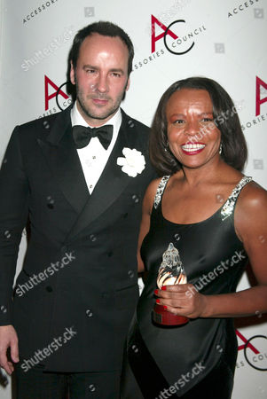 Tom Ford and Teri Agins