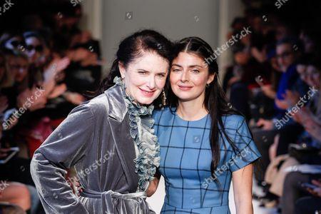 Editorial image of Luisa Beccaria show, Runway, Autumn Winter 2016, Milan Fashion Week, Italy - 25 Feb 2016