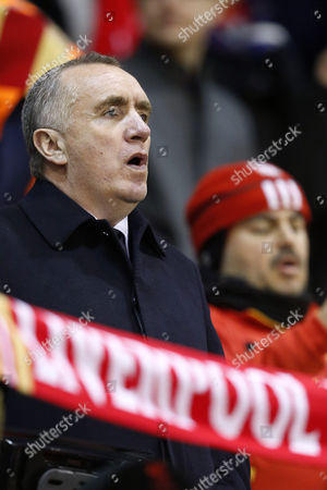 Liverpool Chief Executive Officer Ian Ayre pictured ahead of the Europa League Round of 32, Second Leg Match played between  Liverpool FC v FC Augsburg at Anfield, Liverpool on February 25th 2016
