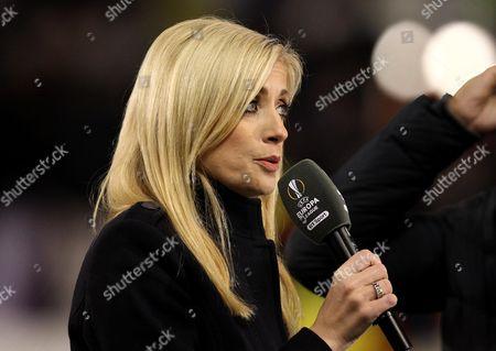 BT Sport and BBC Radio Five Live Presenter Lynsey Hipgrave