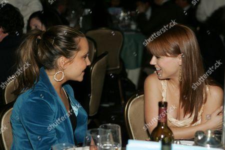Amanda Bynes and Allison Munn