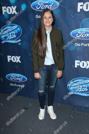 Editorial image of 'American Idol' Finalists Party, Los Angeles, America - 25 Feb 2016