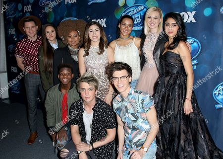 Editorial picture of 'American Idol' Finalists Party, Los Angeles, America - 25 Feb 2016