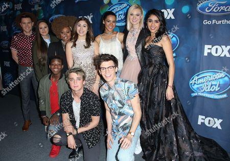 Editorial photo of 'American Idol' Finalists Party, Los Angeles, America - 25 Feb 2016
