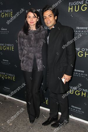 Editorial image of 'Hughie' play opening night, New York, America - 25 Feb 2016